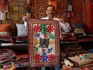 Marchand de tissus artisanat