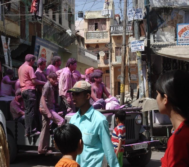 Hôli, la fête des couleurs