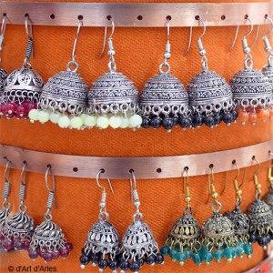 Boucles d'oreilles indiennes