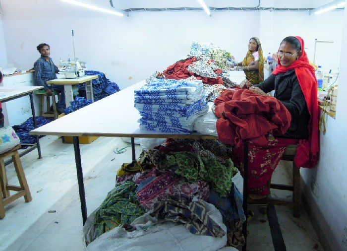 Ouvrières textile en Inde