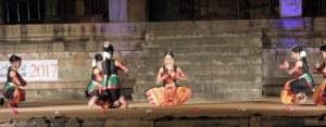 Festival de danse indienne à Tanjore