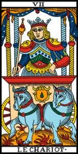 Carte du Tarot Le Chariot