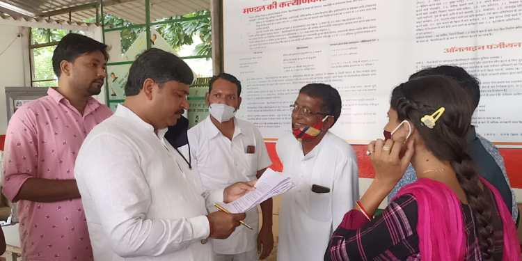 Minister of State for Labour-held public hearing in Alwar