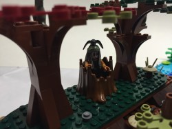 No Lego MOC is complete without a humorous detail. Tonto hiding in the stump.