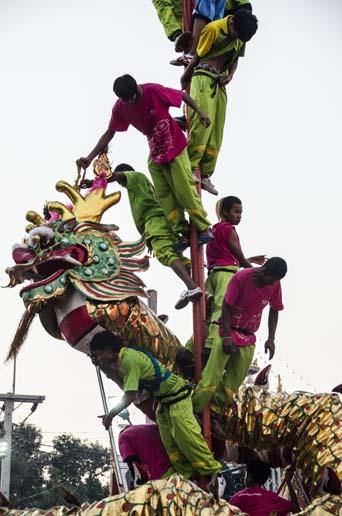 Ayutthaya à la fête