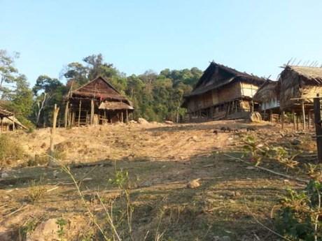 Le village Akha (Photos d'Axel & Sara)