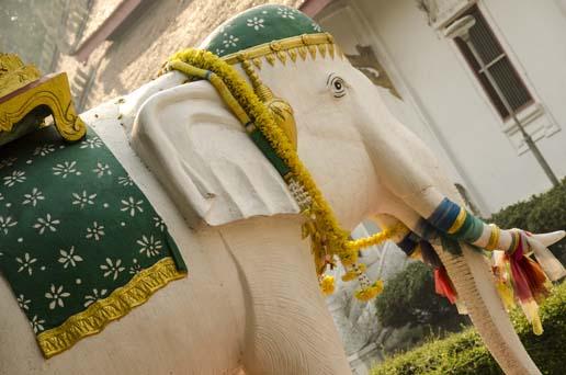 Le temple blanc de Chiang Rai - Thaïlande - Tour du monde - Jaiuneouverture