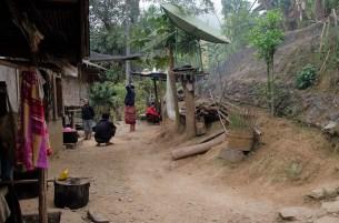 Houe Xai à Luang Namtha - le village