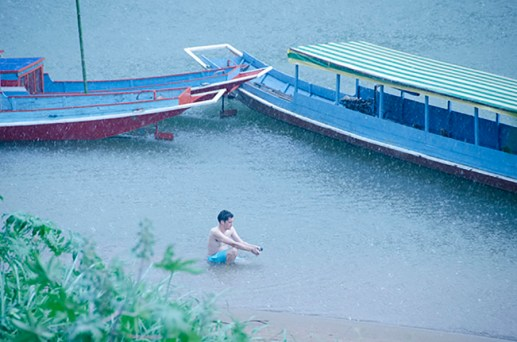 Premier Orage - Nong Khiaw - Laos - J'ai Une Ouverture - Tour du Monde