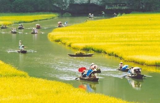 Tam Coc en saison touristique