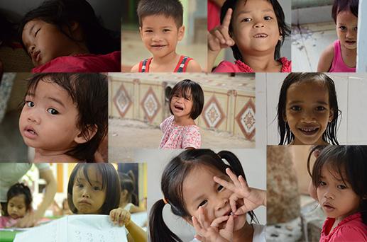 Les enfants de l'orphelinat de Di An - J'ai Une Ouverture - Tour du Monde - F