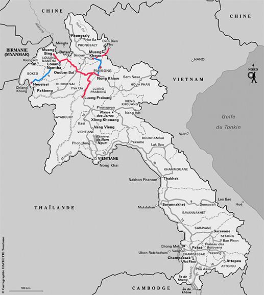 Itinéraire conseillé au Laos - Notre circuit