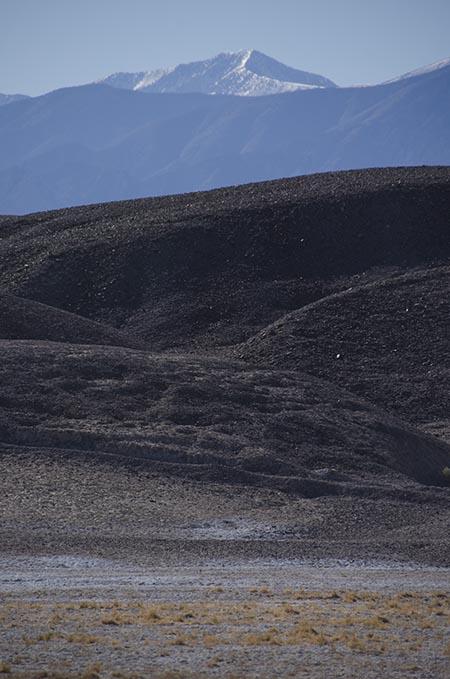 Désert enneigé - Death Valley - USA