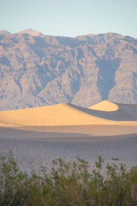 Dunes de sable - Death Valley - USA