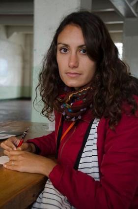 En train d'écrire des lettres aux prisionniers- San Francisco copy