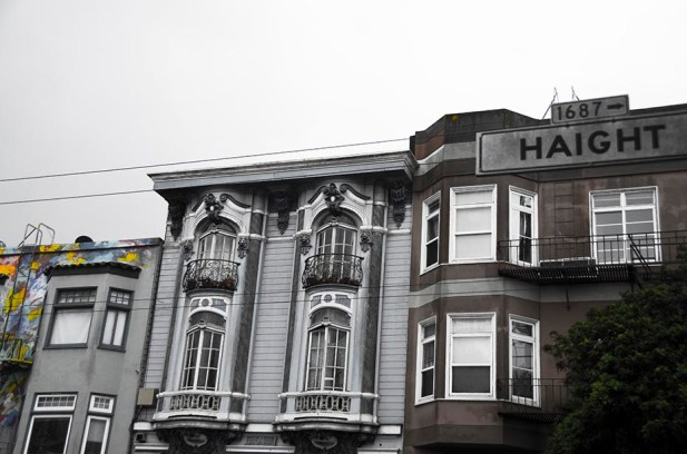Haight Street grisaillant