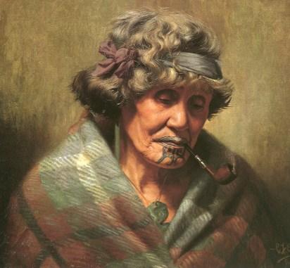Ina Te Papatahi de Charles F. Goldie