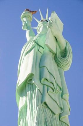 La statue du pêché - Las Vegas - USA