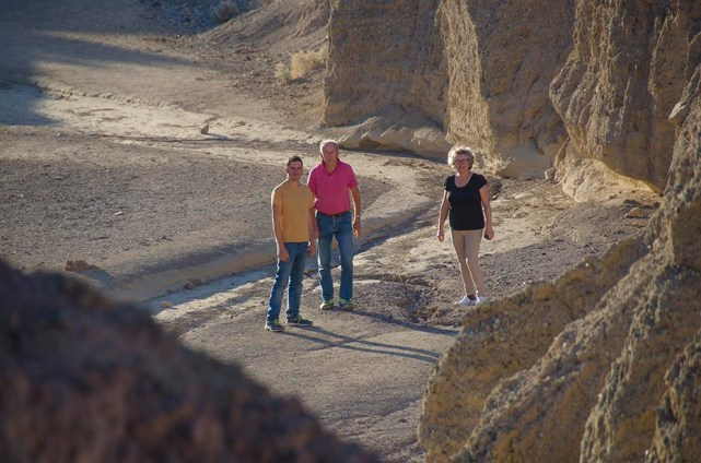 Les Biomans dans la Death Valley - Death Valley - USA