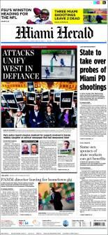 Miami Herald - Floride - Etats Unis - Je suis Charlie