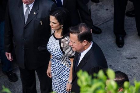 Le couple présidentiel