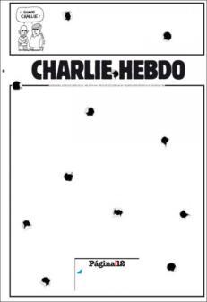 Página 12 - Buenos Aires - Argentine - Je suis Charlie