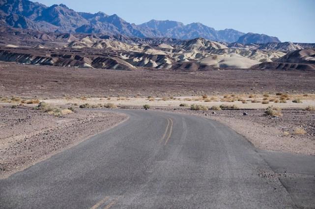 Route du désert - Death Valley - USA