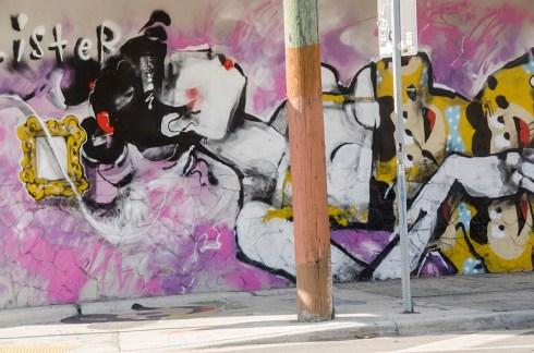Une peinture dans le quartier de Wynwood à Miami