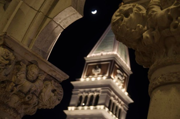 Une fausse Lune - Las Vegas - USA
