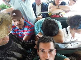 Chicken Bus - Guatemala - Vers San Juan