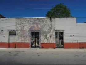 Street Art Laguna de Bacalar - Mexique