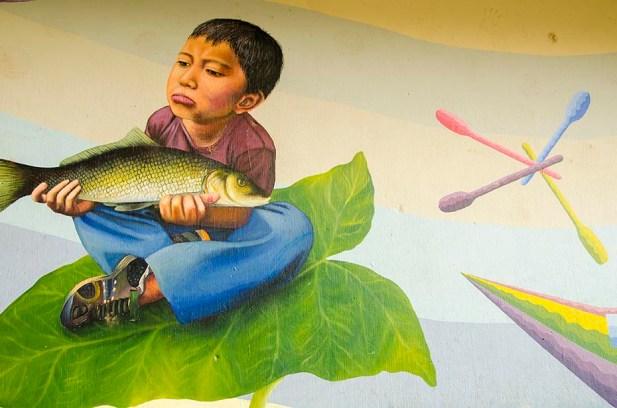 Street Art - San Juan de la Laguna - Guatemala (6)
