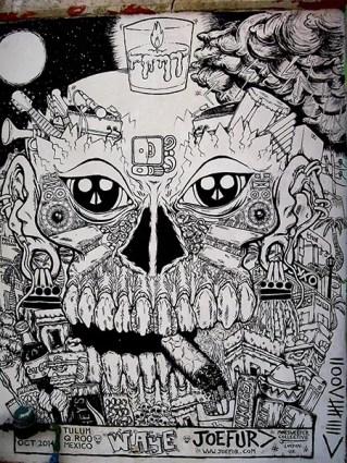 Street Art Tulum - Mexique (2) copy