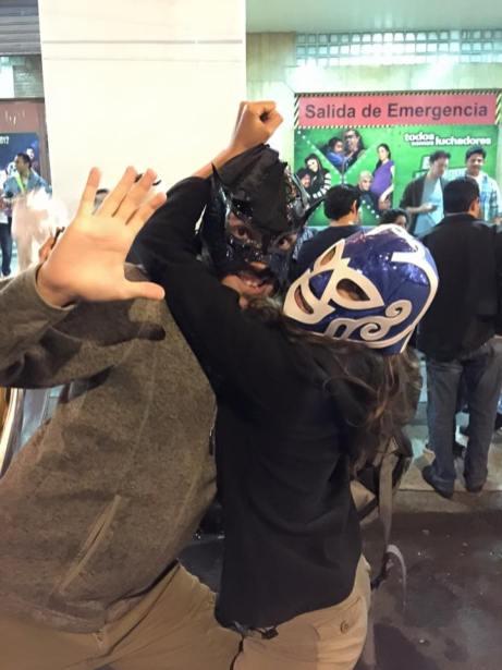 En mode Lucha Libre - Mexico