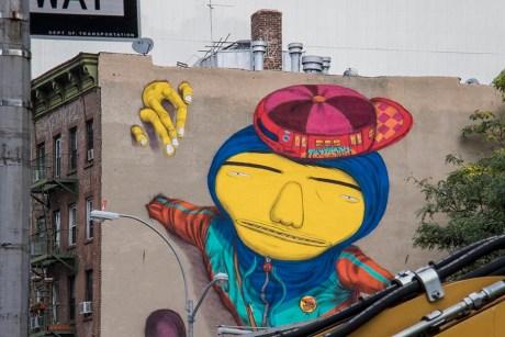 Street Art à Lower East Side - New York - USA (2)