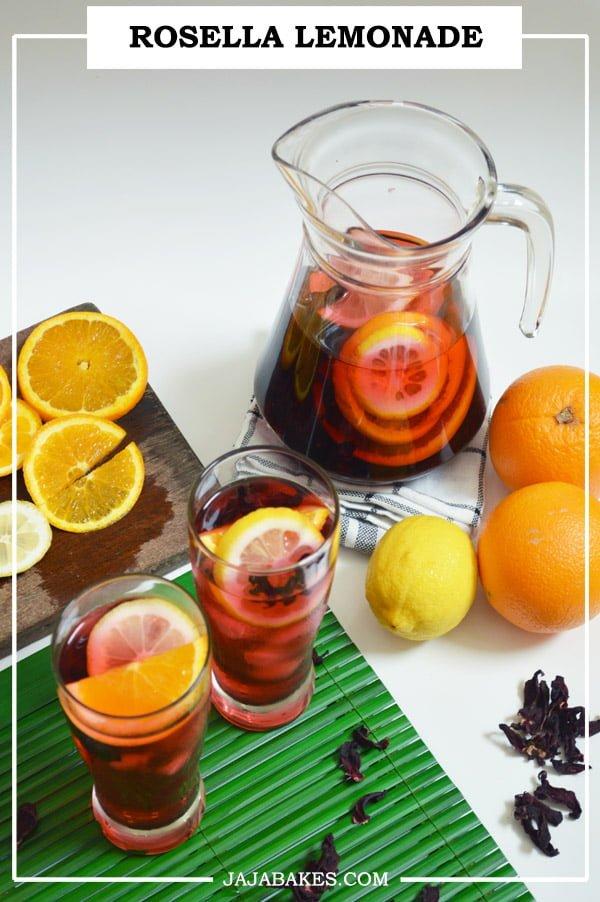 rosella tea PINTEREST