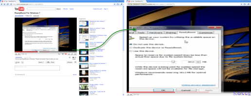 YouTube video preview in full browser size