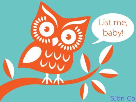 Twitter- List me, baby!