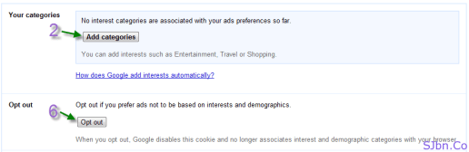 Google Ads Preferences - Make the ads you see on the web more interesting