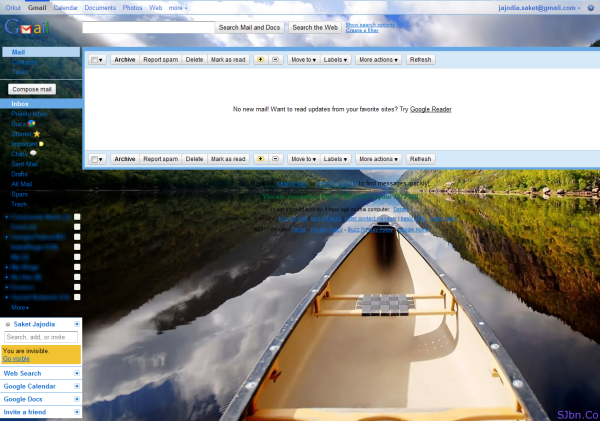 Gmail Backgrounds - Year of Clean Water