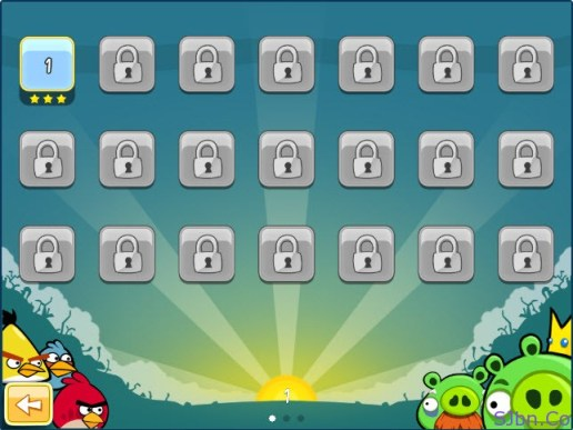 Angry Birds - All Level locked (except 1st level)