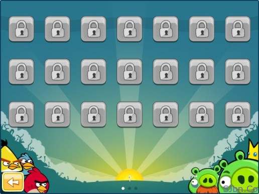 Angry Birds - All Level locked (including 1st level)