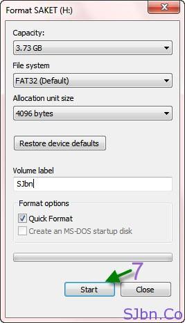 Format Pen Drive