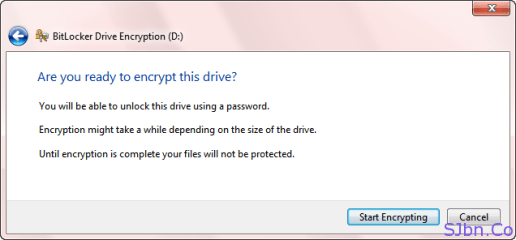 Are you ready to encrypt this drive
