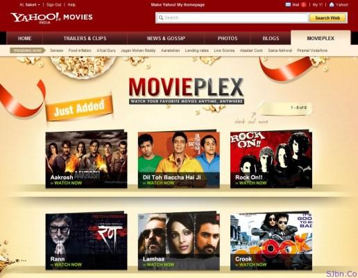 Yahoo Movies India MoviePlex