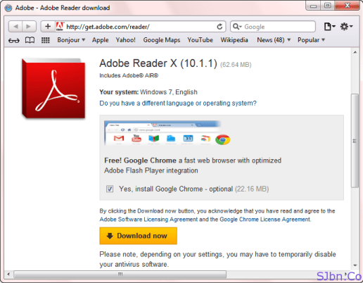 Get Google Chrome With Adobe Reader In Safari