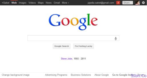 Google - Steve Jobs (1955 - 2011)