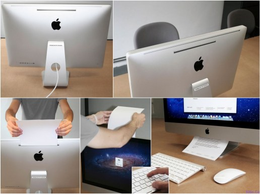 iMac with iPrinter