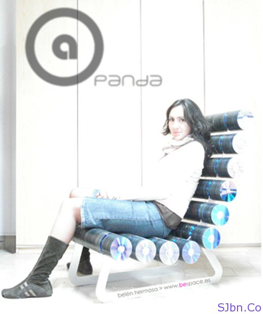 Panda Chair designed by Belen Hermosa