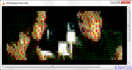 VLC(Colour AsCii Art)